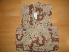 US Army 6-color camo COVER PASGT Vest desert storm BDU DCU USMC Small/Medium USA