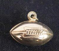Vintage Miniature Football Pendant