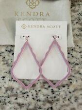 Matte Lilac New! Nwt $60 Kendra Scott Sophee Textured Drop Earrings