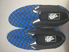 VANS CLASSIC CHECKERBOARD SLIP ON SKATE SHOES MEN'S SIZE 11.5
