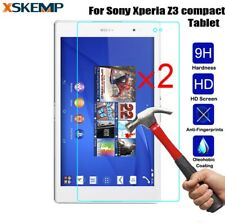 2PCSx 0.33mm Tempered Glass Screen Protector For Sony Xperia Z3 Tablet Compact
