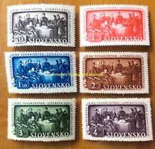 EBS Slovakia Slovensko 1942 - 150 years Slovak Academy - Michel 105-110 MNH**