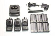 A REPROGRAMMER : Lot de 3 Radio UHF VERTEX VX-800U + 1 chargeur & 6 batteries (I