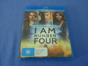 I Am Number Four Blu-ray + DVD  Free Postage