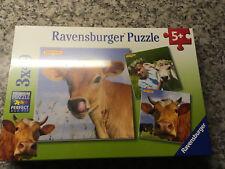 Ravensburger Puzzle 3 x49 Teile,Premium Puzzle +Miniposter ovp,Milkana Promotion