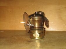 New listing Miners Auto-Lite Carbide Lamp -Nice - Working !