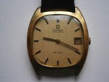 Vintage gents wristwatch OMEGA DE VILLE automatic watch spares or repair 1002