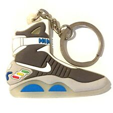 NEW AIR MAG MARTY MCFLY BACK TO THE FUTURE SNEAKERS SHOES KEY CHAIN RING HOLDER