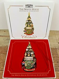 2015 Official White House Historical Association Christmas Ornament with Box