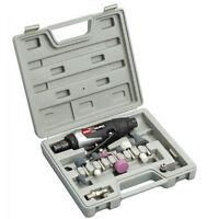 Clarke X-Pro CAT129 Professional Air Die Grinder Kit + CAT38 Drum Sander Set