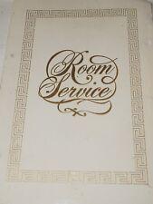 "Large Caesars Palace Las Vegas in ROOM SERVICE Directory circa 1980 15"" x 10"""