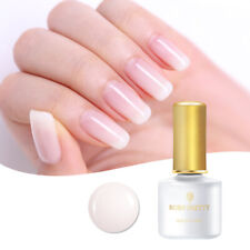 6ml UV Gel Nail Polish Opal Jelly White Soak Off Varnish Decor DIY Born Pretty