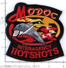 California - Modoc Hotshots CA Forest Fire Dept Patch