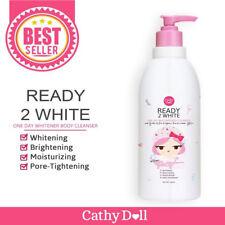 Cathy Doll Ready to White Whitening Body Cleanser Milk Serum Bath Cream 15 FOz