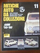 Booklet RENAULT 4L rare 12 PAGES - auto da collezione