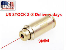 US Red Dot Laser 9mm Boresighter Bore Sight Caliber Cartridge Bass for Hunting