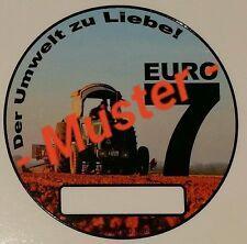Euro7 Spaßaufkleber Hanomag