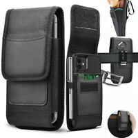 Vertical Cell Phone Holster Pouch with Belt Loop Wallet Case Cover for Phone USA