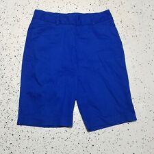 Studio Works Women's Bermuda Shorts ~ Sz 10 ~ Royal Blue ~ Above Knee