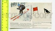 426274 ADVERTISING Downhill Ski 1964 OLYMPIC GAMES Old Sticker