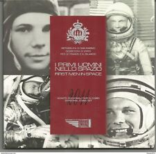 San Marino 2011, Divisionale Euro FDC in confezione di zecca. First men in space