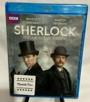 Sherlock: The Abominable Bride (Blu-ray Disc, 2016) New. Region A, Widescreen.