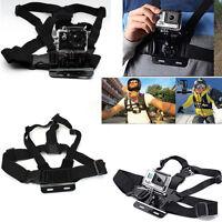 For GoPro Hero 1 2 3 3+ 4 SJ4000 Camera Adjustable Chest Belt Strap Mount Strap