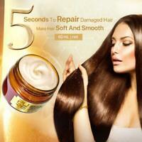 PURC MAGICAL KERATIN Hair Care Mask Deeply Repairs Damaged Hair Root T1Y5