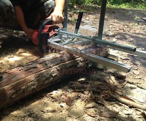 """Chainsaw Mill Suits up to 36"""" Bar Wood Cutting Whipper Woodwork Carpentry"""
