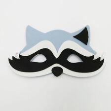 Raccoon Animal Foam Mask Zoo Safari Farm Jungle Costumes Kids Child Boy Girls