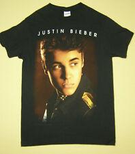 Justin Bieber Believe 2012-13 Concert Tour T-Shirt Black size S