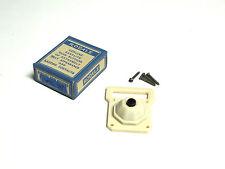 * NIB RODALE Vintage Bakelite Push Button Door Bell w/Name Plate Cat# 302 VM-36A