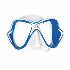 Mares X-Vision Ultra Liquidskin Scuba Diving Snorkeling Mask Blue/White