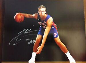 Luke Kennard Detroit Pistons Autographed Signed 11x14 Photo