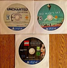 PS4 Used games - disc only - Lot of 3 (Rated T) *NEW lower Price*