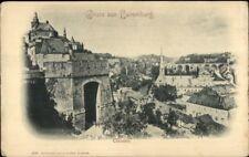Gruss Aus Luxemburg Clausen c1900 Postcard