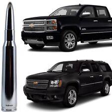 Chrome Bullet Antenna for Chevy Silverado Tahoe Avalanche Suburban 2007-2019