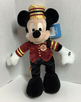 Disney Theme Park Mickey Tower Of Terror Bean Bag Plush W/Tags
