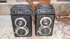 2 Vintage Argus Argoflex Camera