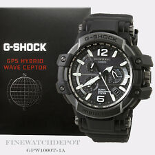 Authentic Casio G-Shock Mens GPS Gravity Solar Hybrid Watch GPW1000T-1A GPW1000T