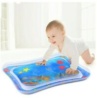 Baby Water Mat Infant Toy Inflatable Play Mat for 3 6 9 Months Newborn Boy Girl