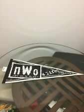 New Vintage WCW NWO New World Order 4 Life Wincraft Full Size Wrestling Pennant