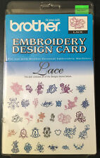 New Brother Lace Embroidery Design Card Ec04