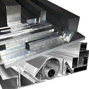 Alu Winkel Flach Rohr U-Profil Vierkantrohr Rechteckrohr T-Profil  Aluminium