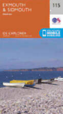 Exmouth and Sidmouth 115 Explorer Map Ordnance Survey With Digital Download