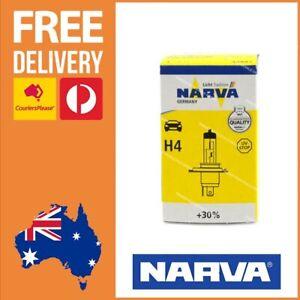 Narva H4 Globe 60/55 Watt Halogen Plus 30 Globe 12V H4 Bulb Single Pack 48881