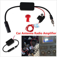 12V Auto Car Stereo FM AM Strengthen Antenna Radio Signal AMP Amplifier Booster