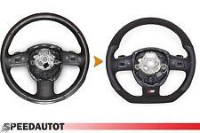 échange S-LINE Alcantara cuir aplati volant mult schaltwi AUDI A6 (23)