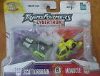 Transformers Cybertron RID : Scattorbrain vs Monocle Mini-Con Class Hasbro NIP