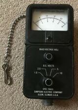 SIMPSON ELECTRIC COMPANY ALIGNMENT METER RT0000453102 - MADE IN USA - VINTAGE